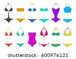 vector illustration of women's... | Shutterstock .eps vector #600976121