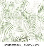 leaf of palm tree background   Shutterstock . vector #600978191