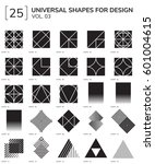 set 25 universal geometric