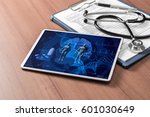 medical technology concept ... | Shutterstock . vector #601030649