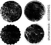 grunge rubber stamp texture ... | Shutterstock .eps vector #601038431