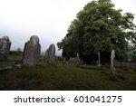 irish cemetery  | Shutterstock . vector #601041275
