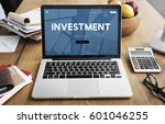 investment money profit... | Shutterstock . vector #601046255