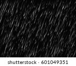rain texture on black... | Shutterstock .eps vector #601049351