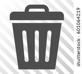 trash can vector icon.... | Shutterstock .eps vector #601064219