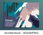 creative universal art poster.... | Shutterstock .eps vector #601069961