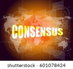 business concept  word... | Shutterstock . vector #601078424