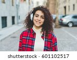 portrait of young beautiful... | Shutterstock . vector #601102517