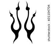 tattoo tribal vector designs...   Shutterstock .eps vector #601104704