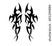 tattoo tribal vector designs... | Shutterstock .eps vector #601104884