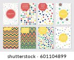 collection of creative... | Shutterstock .eps vector #601104899