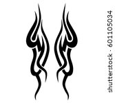 tattoo tribal vector designs... | Shutterstock .eps vector #601105034