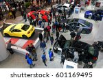toronto february 25  at the... | Shutterstock . vector #601169495