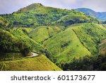 mountain travel | Shutterstock . vector #601173677