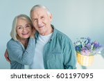 Portrait Of Happy Senior Woman...
