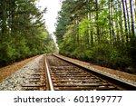 Texas Train Tracks In The...
