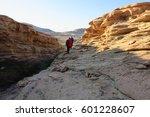 volcanic mountains in kazakhstan | Shutterstock . vector #601228607
