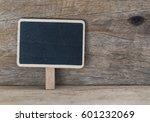 blank blackboard over grunge... | Shutterstock . vector #601232069