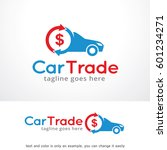 car trade logo template design... | Shutterstock .eps vector #601234271