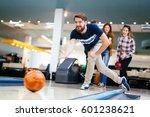 friends enjoying recreational ... | Shutterstock . vector #601238621