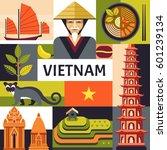 vector illustration with... | Shutterstock .eps vector #601239134