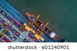 aerial view from drone ... | Shutterstock . vector #601240901