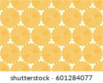 abstract golden wall tiles... | Shutterstock . vector #601284077