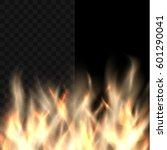 fire vector design element on... | Shutterstock .eps vector #601290041