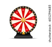 wheel of fortune lottery luck... | Shutterstock .eps vector #601294685