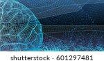 technological digital... | Shutterstock .eps vector #601297481