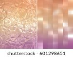 set 2 of vintage abstract... | Shutterstock . vector #601298651