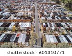 aerial view of the patterson... | Shutterstock . vector #601310771