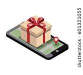 online shopping and e commerce... | Shutterstock .eps vector #601321055