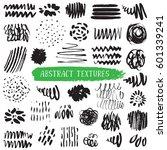 set of hand drawn design... | Shutterstock .eps vector #601339241