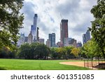 new york city   october 03 ... | Shutterstock . vector #601351085