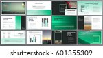 presentation templates. use in... | Shutterstock .eps vector #601355309