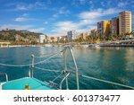 Ships Moored In Malaga Harbor....