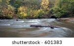 autumn scene along minnehaha...   Shutterstock . vector #601383