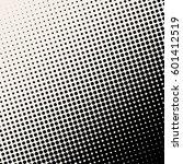 halftone. grunge halftone... | Shutterstock .eps vector #601412519