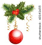 Vector. Christmas Decoration ...