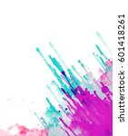 abstract watercolor background. ... | Shutterstock . vector #601418261