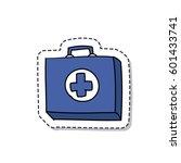 doodle icon  sticker. medicine...