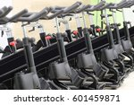 unterior of a fitness hall with ... | Shutterstock . vector #601459871