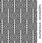 regular geometric. seamless... | Shutterstock .eps vector #601462091