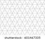 regular geometric. seamless... | Shutterstock .eps vector #601467335