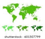 world map vector illustration... | Shutterstock .eps vector #601507799