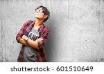 latin girl wearing sunglasses... | Shutterstock . vector #601510649