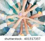 hand. | Shutterstock . vector #601517357