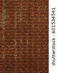 rustic metal floor texture | Shutterstock . vector #601534541
