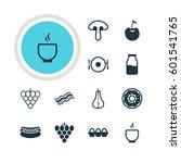 vector illustration of 12...   Shutterstock .eps vector #601541765